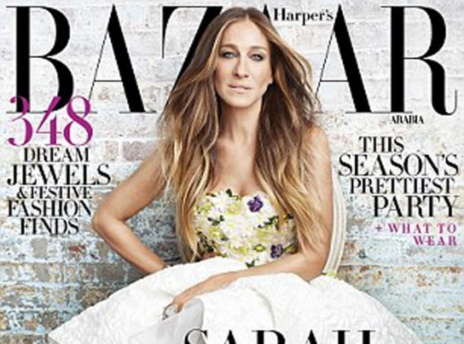 Mode : Sarah Jessica Parker : elle dévoile sa nouvelle ligne de chaussures dans Harper's Bazaar !