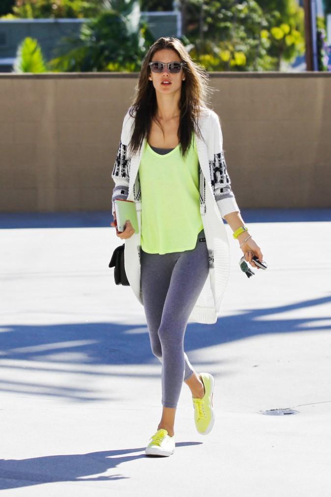 Alessandra Ambrosio : le sportswear