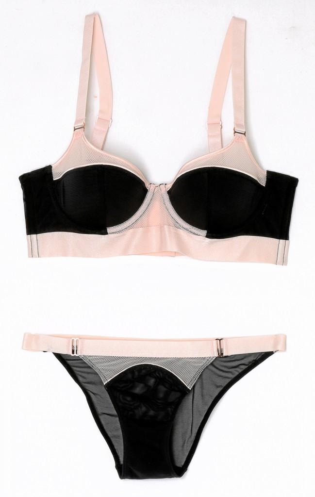 Padding et culotte, bande élastique, H&M, 19,95 € et 7,95 €