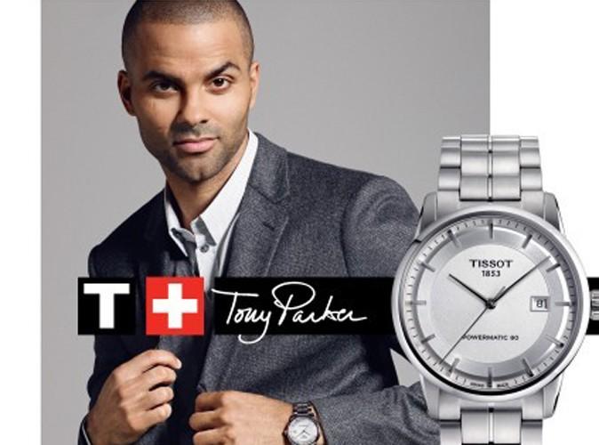 Mode : Tony Parker donne de son temps pour Tissot !