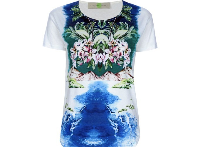 Mode : zoom sur le t-shirt imprimé Stella McCartney ! Ah, si j'étais riche !