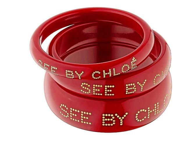 Mode : zoom sur les bracelets bangles See by Chloé... Ah si j'étais riche !