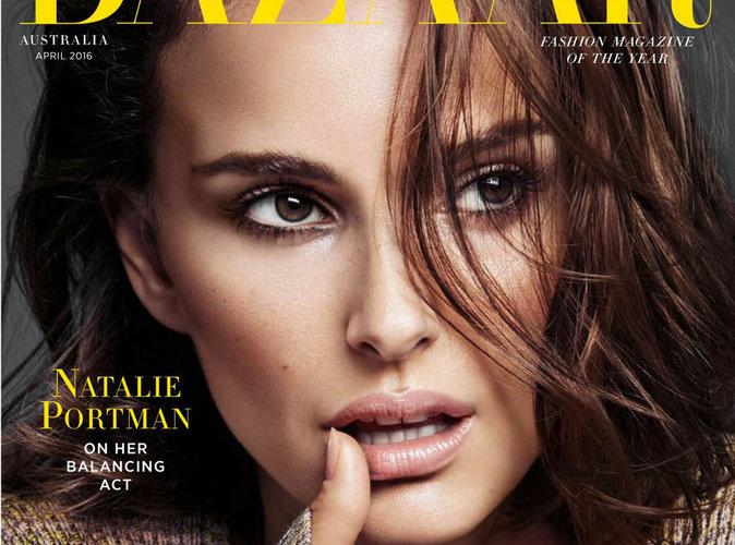 Natalie Portman : étonnante et sensuelle en couverture du magazine Haper's Bazaar Australie