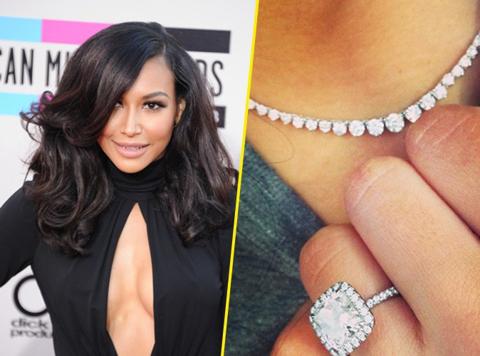 Naya Rivera : Big Sean lui a offert le collier en diamant assorti à sa bague de fiançailles !