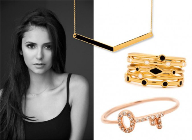 Nina Dobrev pour Gorjana Jewerly