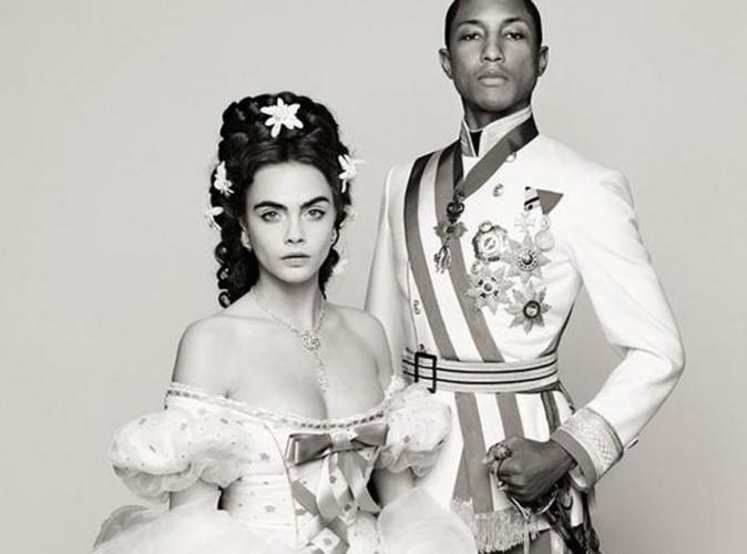 Vidéo : Cara Delevingne et Pharrell Williams : un couple impérial pour Chanel !