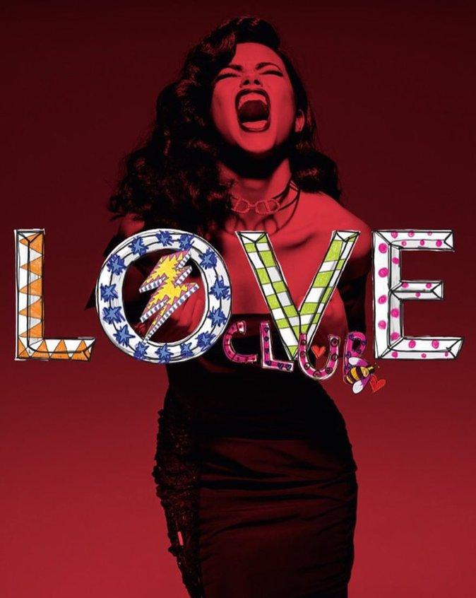 Adriana Lima pour Love Magazine