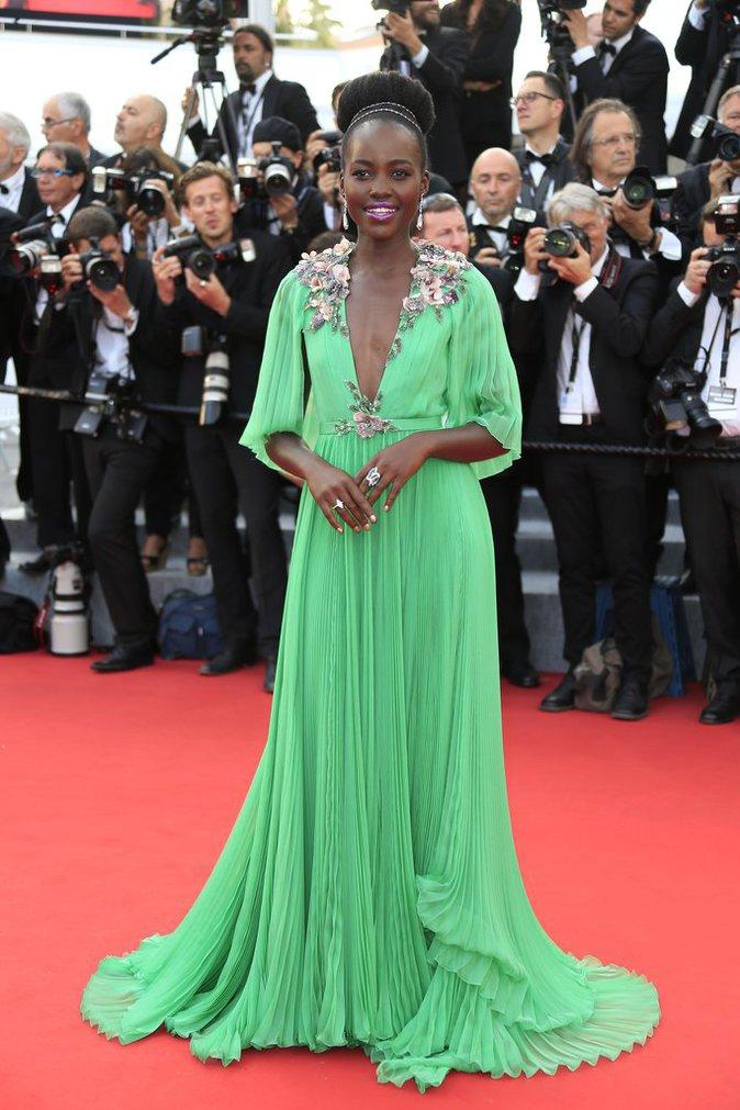 Lupita Nyong'o en Gucci