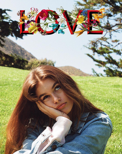 Photos : Kendall Jenner a trouvé sa muse pour Love magazine !