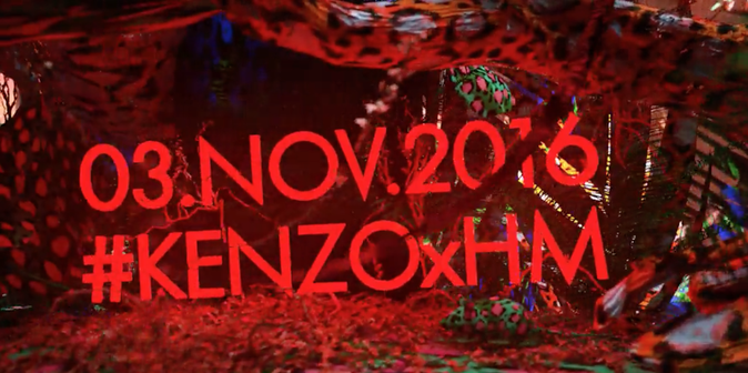 Photos : Kenzo, nouveau créateur pour H&M !