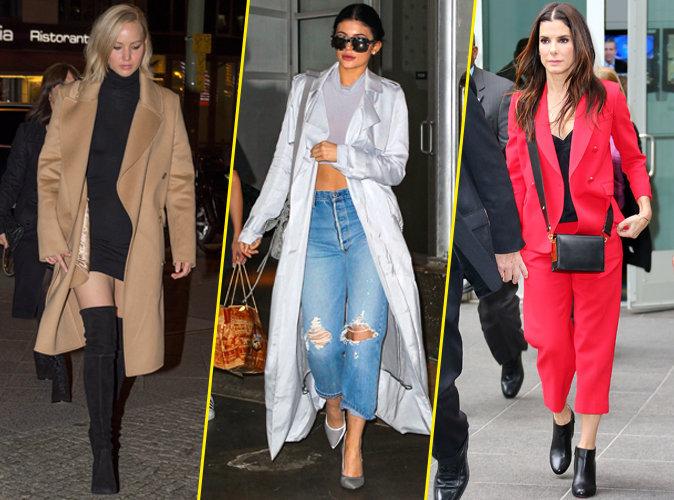 Palme Fashion, look, Jennifer Lawrence, Kylie Jenner, Sandra Bullock, semaine
