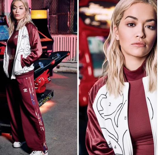 Rita Ora signe une nouvelle collection avec Adidas