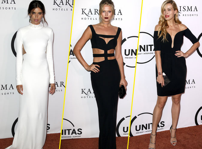 "Photos : Sara Sampaio, Toni Garrn, Petra Nemcova : les plus beaux looks de la soirée ""The Unitas Annual Gala Against Human Trafficking"""