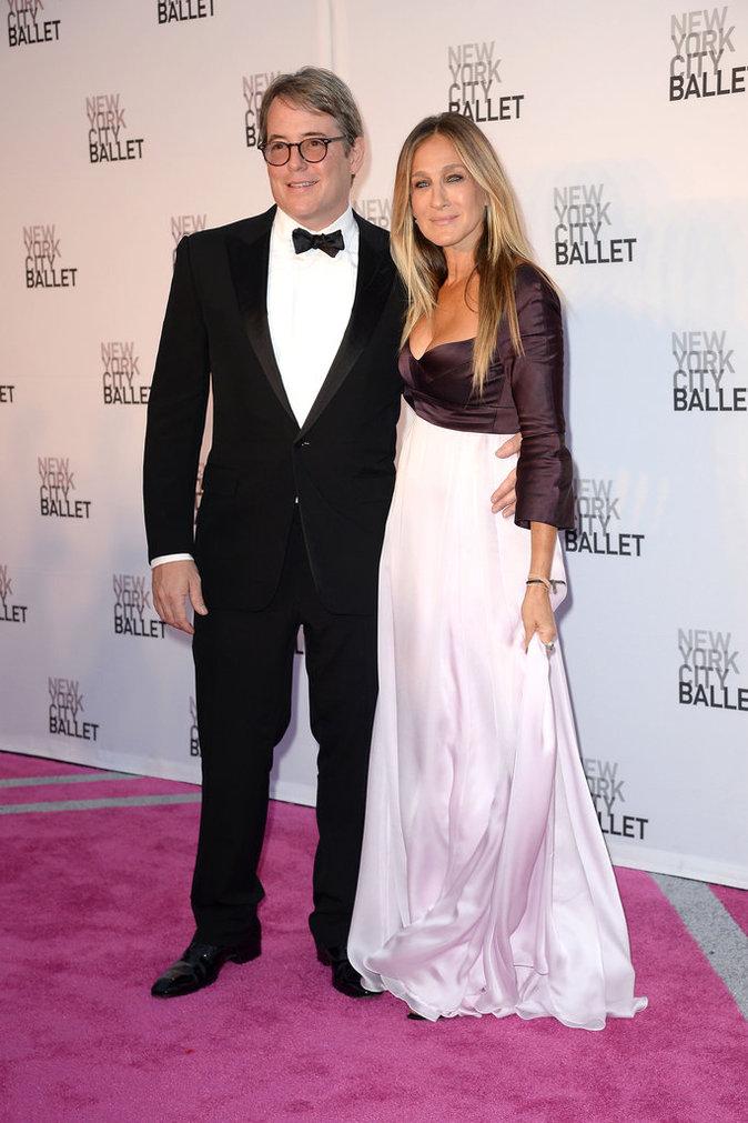 """Sarah Jessica Parker en Narciso Rodriguez à la soirée du """"New York City Ballet 2016 Fall Gala"""""""