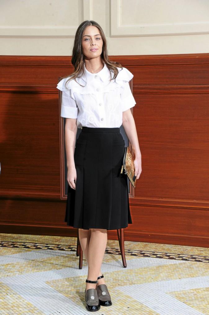 Les derbys : Marie-Ange Casta : Chanel (890 €)
