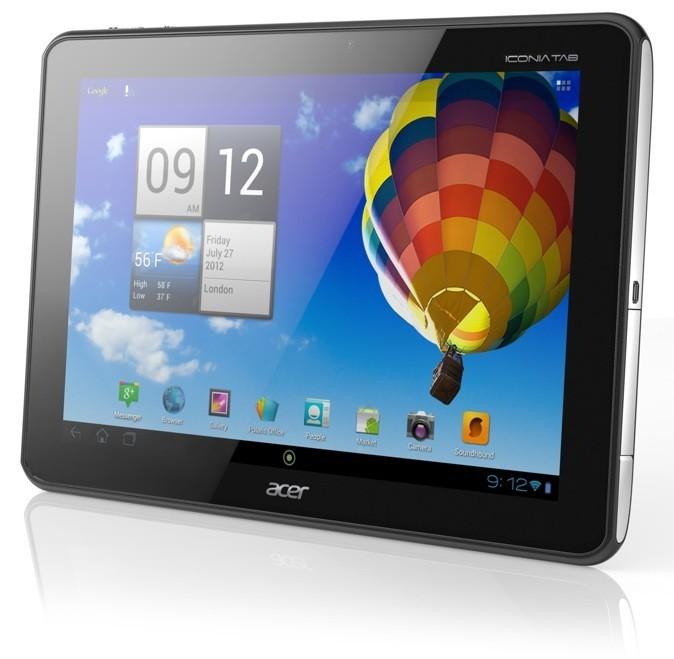 Tablette tactile quadricoeur, Iconia Tab A510. Acer. A partir de 399 €.