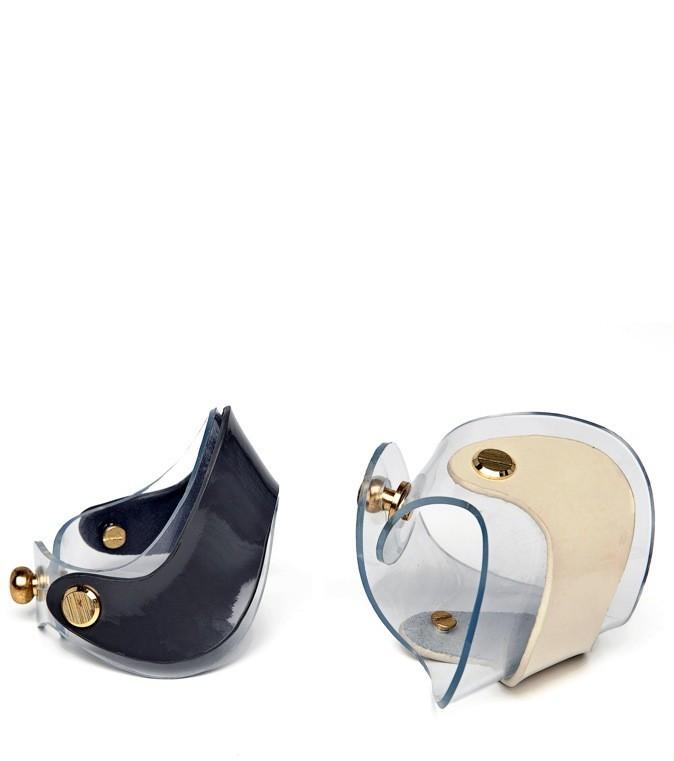 Les bracelets en plastique et similicuir Uterque 25 € !