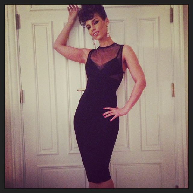 Alicia Keys prend la pose sur son compte Instagram