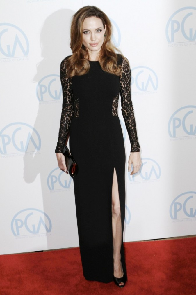 Angelina Jolie à Beverly Hills !