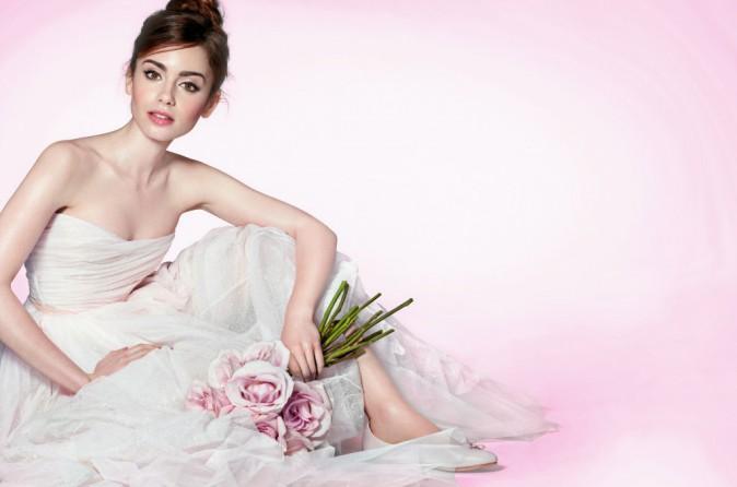 Lily Collins x Lancôme : collection French ballerine Printemps 2014