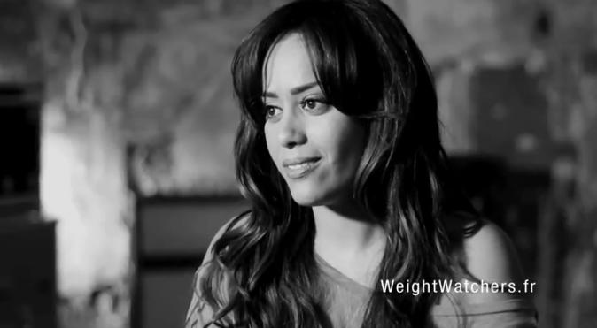 Amel Bent, égérie de Weight Wetchers
