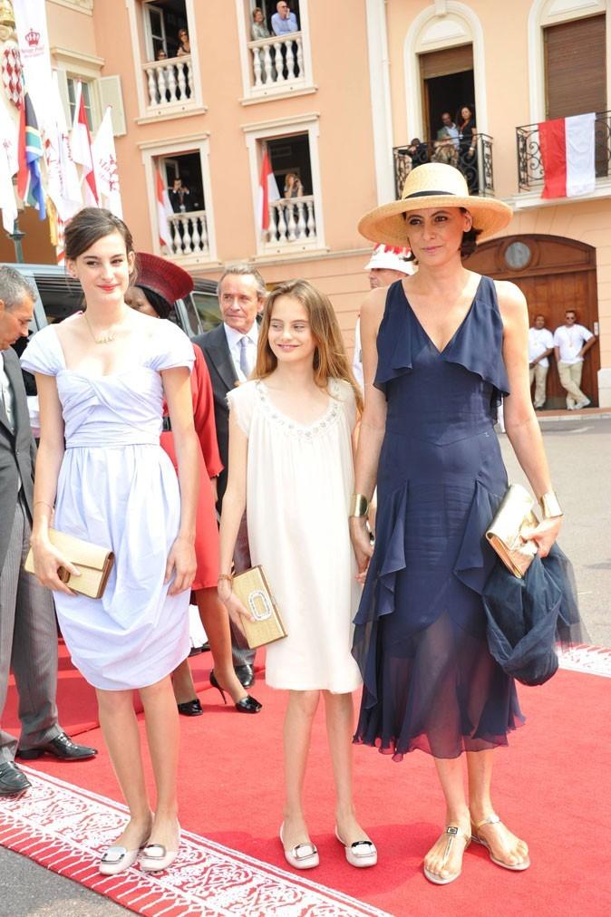 L'élégance se transmet de génération en génération: ici au mariage d'Albert et Charlène à Monaco