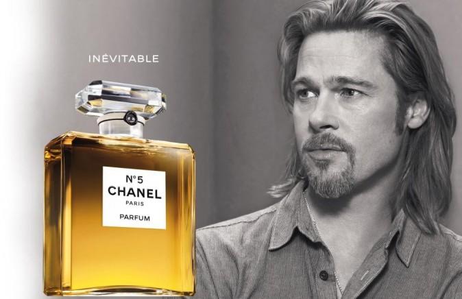 Beauté : Brad Pitt ambassadeur envoûtant dans la pub pour Chanel n°5 !