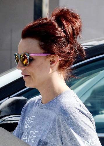 Et le 20 février 2014, Britney s'affiche désormais rousse !