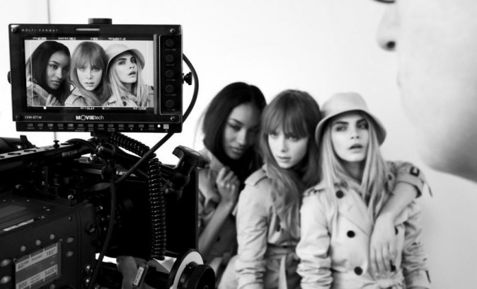 Campagne Burberry Beauty 2012