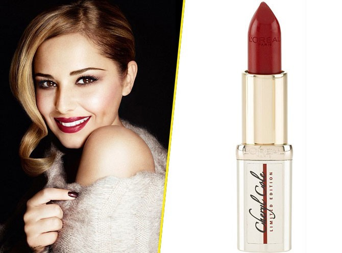 Beauté : Cheryl Cole lance son rouge à lèvres pour une bonne cause ! (réactualisé)