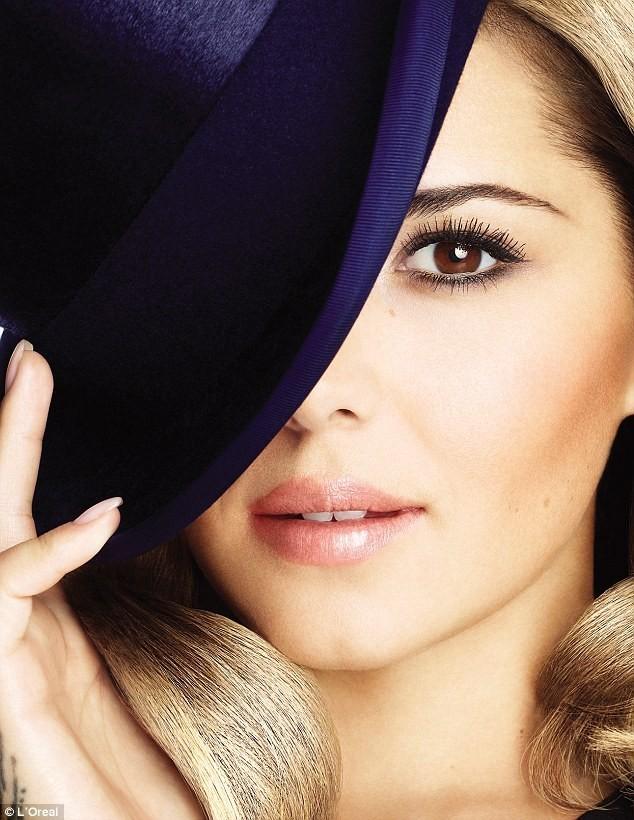 Cheryl Cole pour le nouveau mascara L'Oréal !