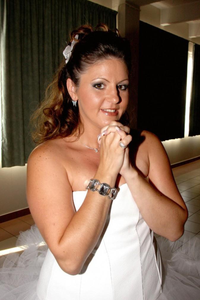 Cindy Sander en août 2008