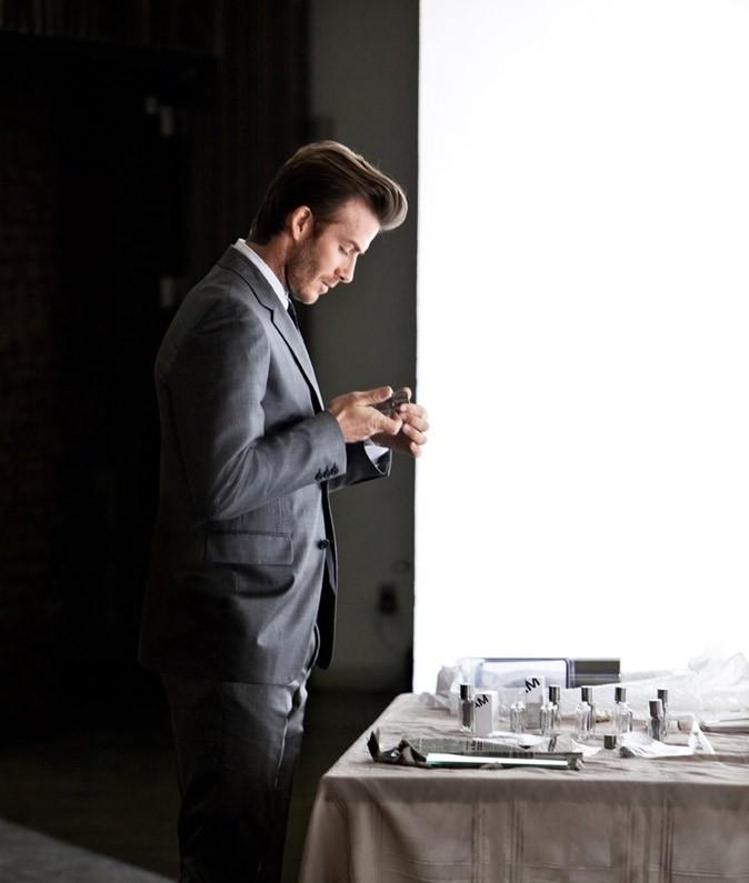 Qui mieux que lui-même pour représenter David Beckham Homme ?