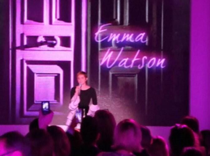 Beauté : Emma Watson s'est exprimée en anglais et en français !