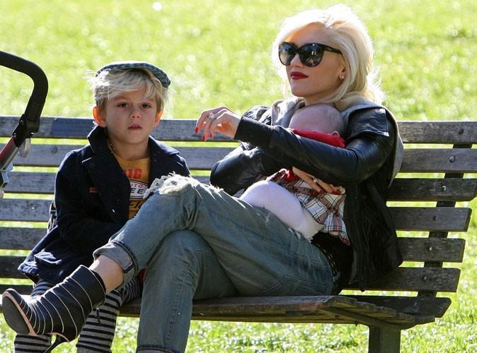 Du rouge même au parc avec les enfants
