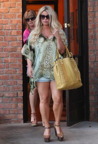 Jessica Simpson, avec ses kilos en trop, avant qu'elle ne retrouve sa ligne !