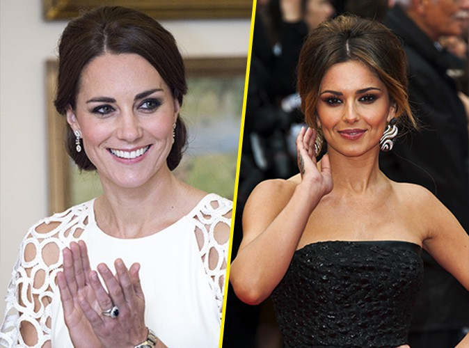 Beauté : Kate Middleton, Cheryl Cole ... les anglais préfèrent les brunes !