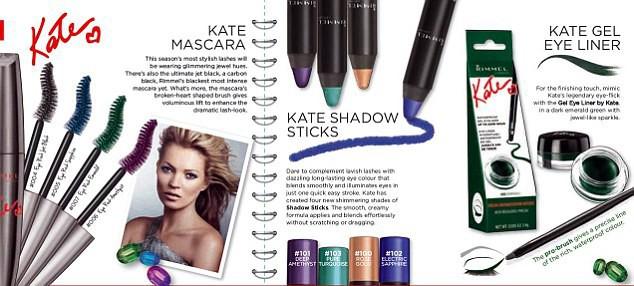 """""""The Urban Bohemian Collection's""""  la collection tant attendue de Kate Moss pour Rimmel !"""