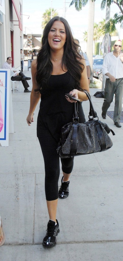 Khloé Kardashian en aout 2009
