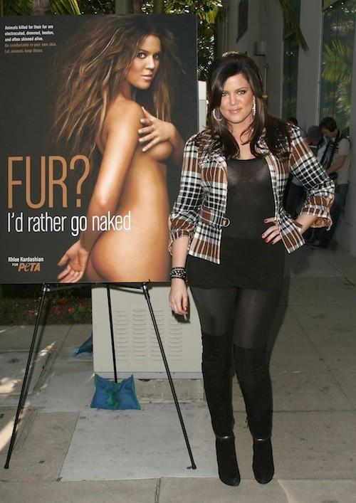 Khloé Kardashian en décembre 2008