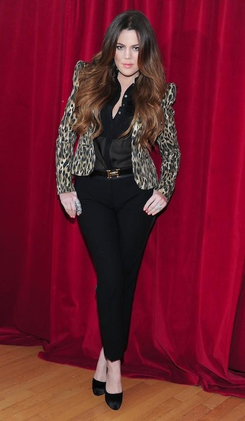 Khloé Kardashian en septembre 2011
