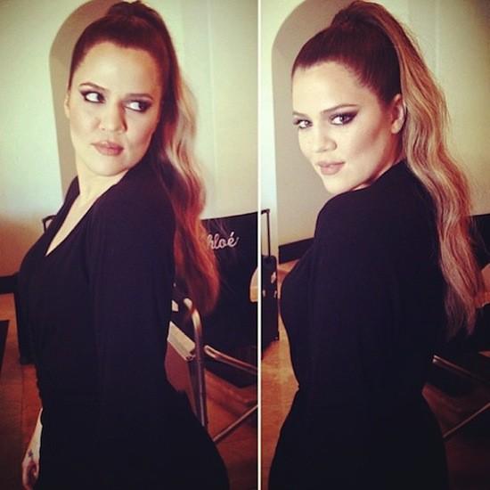 Beauté : Khloé Kardashian : toujours ultra-lookée et jamais sans sa queue de cheval !