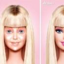La Barbie Après et Avant le démaquillage !