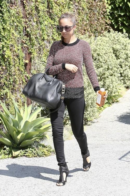 Nicole Richie le 4 septembre 2012