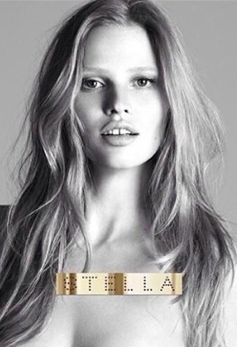 Beauté : Lara Stone : nouvelle égérie sensuelle du parfum Stella de Stella McCartney !