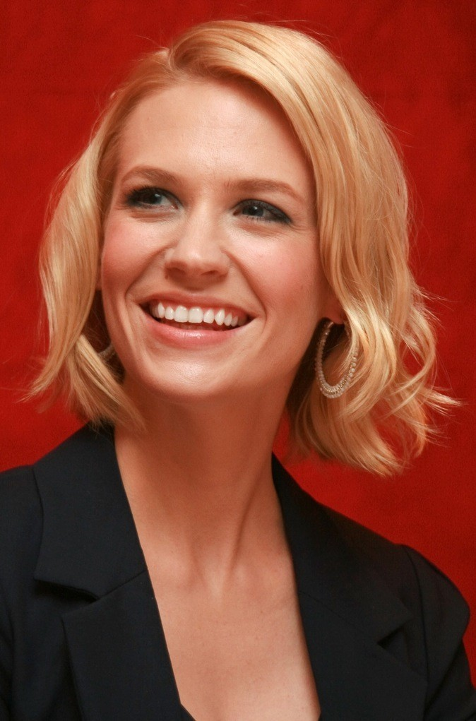 Les pommettes de January Jones