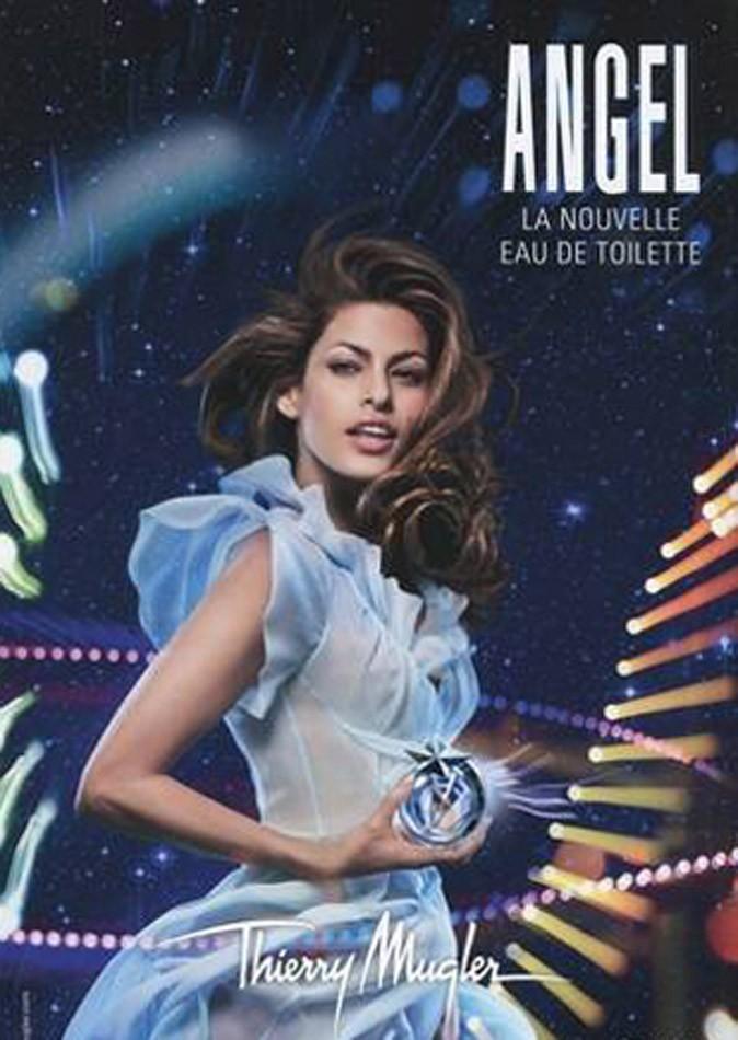 Eva Mendes joue la femme/enfant pour Angel by Thierry Mugler