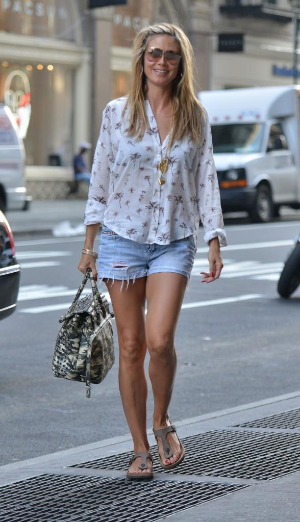 "Elles sont canons sans ""thigh gap""  : Heidi Klum"
