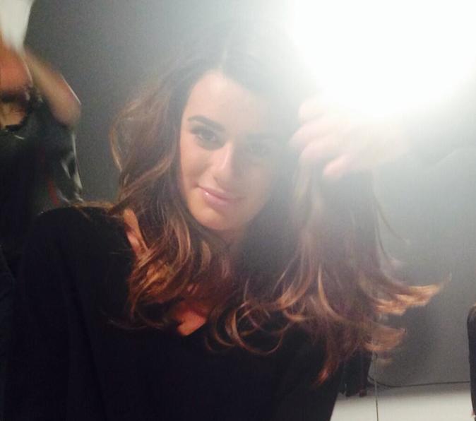 Les coulisses de Lea Michele pour la nouvelle campagne L'Oréal Paris !