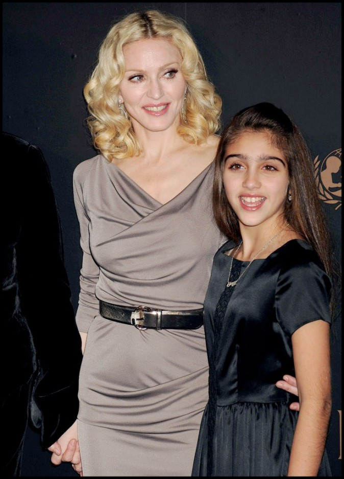 Lourdes Leon maquillée à 12 ans et sa mère Madonna
